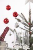 Рождественская елка и подарки Стоковая Фотография