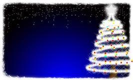 рождественская елка карточки Стоковое фото RF
