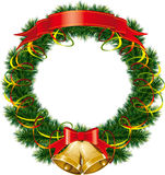 рождественская елка колоколов Стоковое фото RF