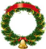 рождественская елка колоколов иллюстрация вектора