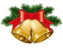 рождественская елка колоколов Стоковое Фото