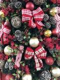 Рождественская елка орнаментирует Бразилию стоковые изображения rf