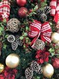 Рождественская елка орнаментирует Бразилию стоковые фото