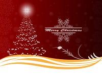 Рождественская елка от шариков Стоковое Изображение RF