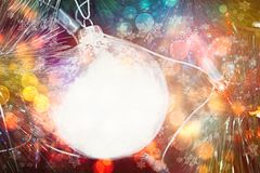 рождественская елка предпосылки красивейшая Стоковые Фотографии RF