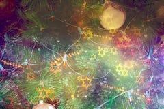 рождественская елка предпосылки красивейшая Стоковая Фотография RF