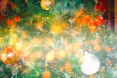 рождественская елка предпосылки красивейшая Стоковое фото RF