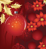 рождественская елка предпосылки Стоковые Изображения
