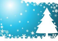 рождественская елка предпосылки иллюстрация штока