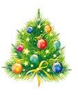 Рождественская елка, рождество, Новый Год, предпосылка Стоковые Фото