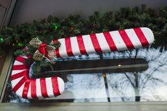 Рождественская елка с игрушками стоковое изображение rf