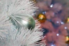 Рождественская елкаукрашение, торжество Нового Года стоковое изображение