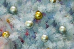 Рождественская елкаукрашение, торжество Нового Года стоковое фото