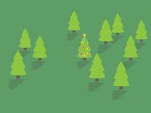 рождественская елка бесплатная иллюстрация