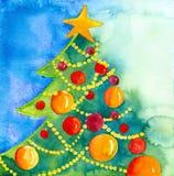 рождественская елка Стоковые Изображения