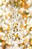 Рождественская елка Bokeh Стоковое Фото