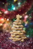 Рождественская елка Gingerbread Стоковая Фотография