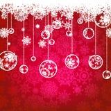 Рождественская открытка, праздник зимы. EPS 8 Стоковая Фотография