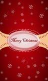 Рождественская открытка 1 Стоковое Фото