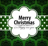 Рождественская открытка. Стоковая Фотография RF