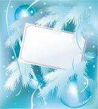 Рождественская открытка бесплатная иллюстрация