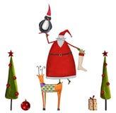 Рождественская открытка Стоковая Фотография RF