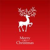Рождественская открытка Стоковое Изображение