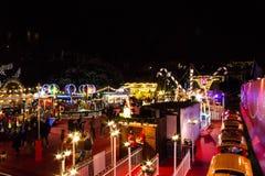 Рождественская ярмарка Эдинбурга Стоковые Фото