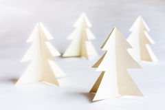 Рождественские елки картона Стоковое Изображение RF