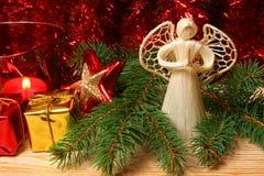 рождество ангела Стоковые Изображения