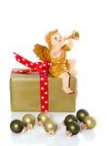 рождество ангела anouncing Стоковые Изображения RF