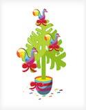 рождество взводит курок валу lollipop Стоковая Фотография RF