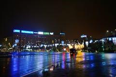 Рождество в Бухаресте Стоковая Фотография