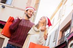 Рождество в влюбленности стоковое фото rf