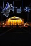 Рождество в городе Стоковая Фотография RF