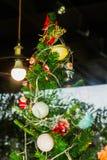 Рождество в магазине Стоковые Изображения