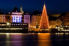 Рождество в Стокгольм. Стоковые Изображения RF