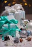 Рождество - группа в составе подарки стоковая фотография rf