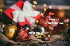 Рождество - группа в составе подарки стоковые фото