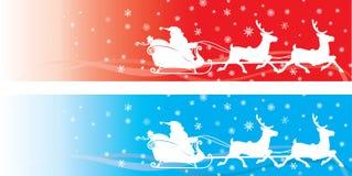 рождество знамени Стоковые Изображения RF