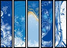 рождество знамен Стоковые Фотографии RF