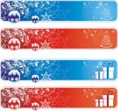рождество знамен стоковое изображение