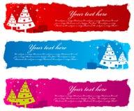 рождество знамен Стоковые Изображения
