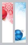 рождество знамен Стоковые Изображения RF
