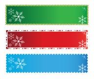 рождество знамен Стоковые Фото