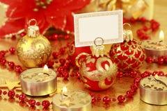 рождество золотистое Стоковые Изображения RF
