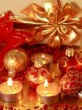 рождество золотистое Стоковые Фото