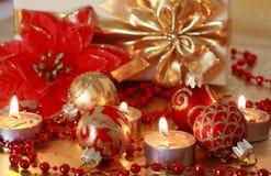 рождество золотистое Стоковое Изображение