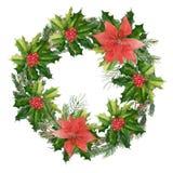 Рождество иллюстрации установило для рекламы иллюстрация вектора