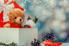 Рождество и Новый Год, присутствующие для партии Стоковая Фотография RF